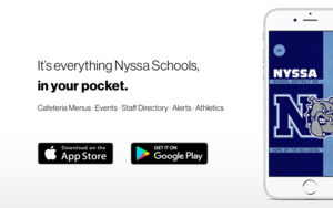 Nyssa Schools has a new app!