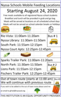 Nyssa Schools Mobile Feeding Locations